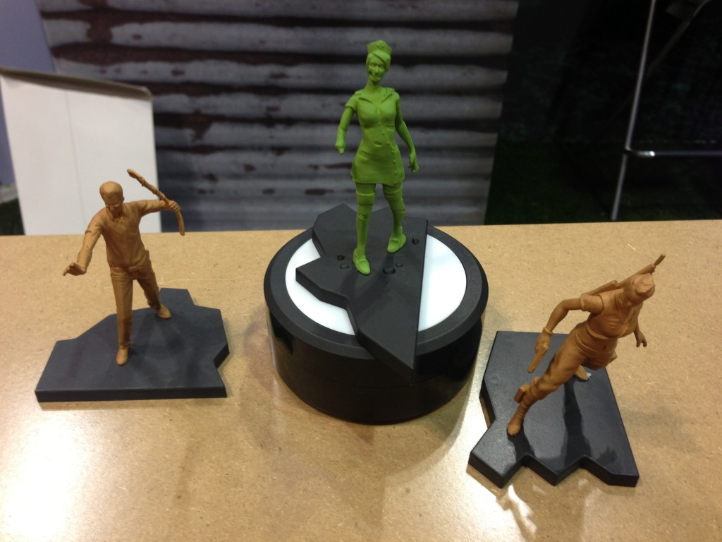 The founder's set includes nathaniel tinkerton and lt rachel sota in bronze and the nurse zombie in green, also a touchstone from creative proximity