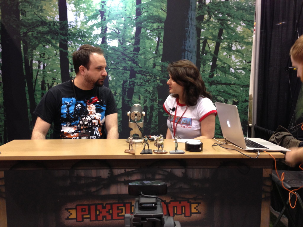tim seeley interview at box o zombies booth c2e2 2013 pixeldom live broadcast