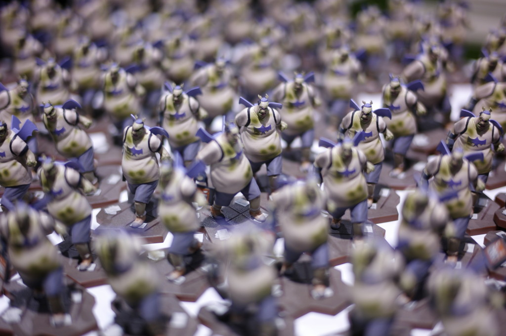 An army of c2e2 exclusive figures, zombiebook guys