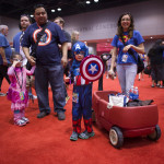 captain america kid shield at c2e2