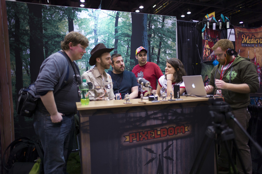 ph productions zombie pub crawl interview at c2e2 pixeldom booth