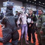 dinosaur suit cosplay at c2e2