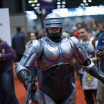 robocop cosplay at c2e2