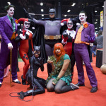 batman characters cosplay group at c2e2 2013