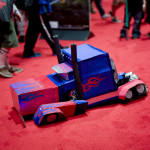 kid transforms into truck cosplay at c2e2 2013