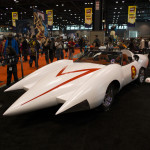 speed racer car on show at c2e2 2013