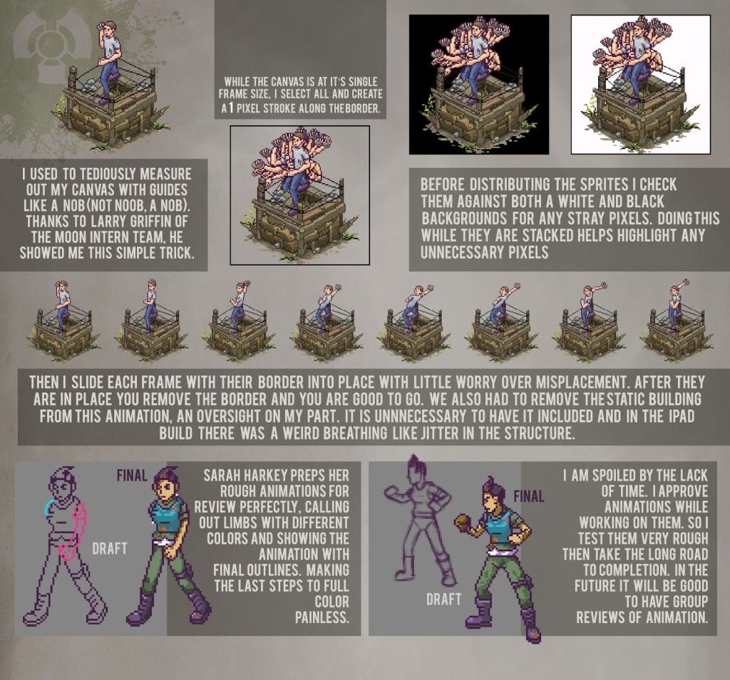 Animation Demo Pixel Art Box O Zombies