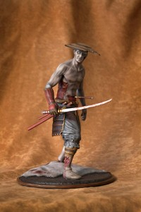 "10"" Limited Edition Samurai Zombie - Front"